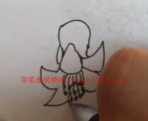 石榴花简笔画