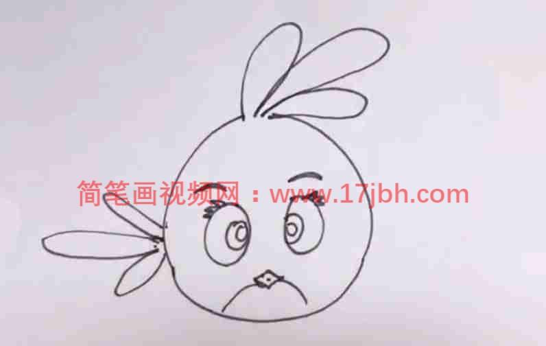 小鸟简笔画图片