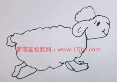 绵羊怎么画简单又好看