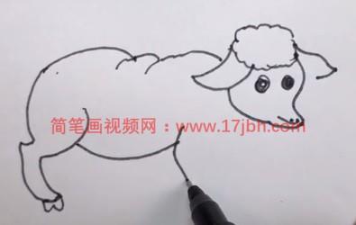 羊的简笔画图片大全