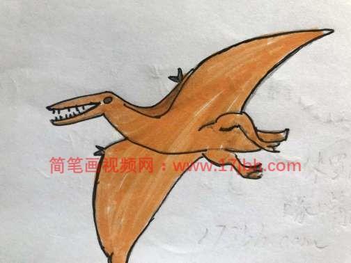 恐龙怎么画