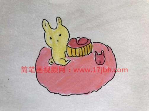 儿童月饼简笔画图片大全