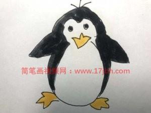 小企鹅简笔画图片大全