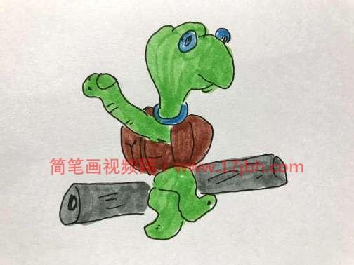 乌龟简笔画图片