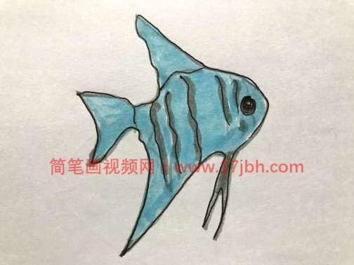 神仙鱼简笔画