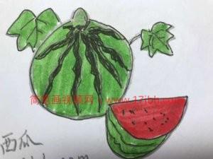 水果简笔画大全