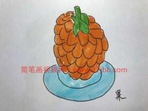 水果简笔画图片大全