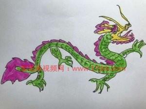 龙的简笔画步骤 龙怎么画霸气又简单图片