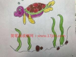 乌龟简笔画图片大全