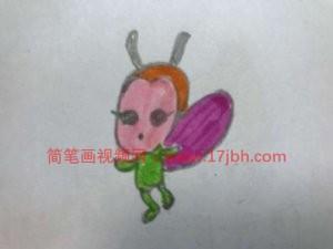 蜜蜂简笔画彩图大全