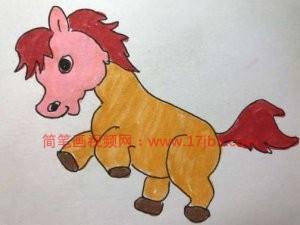马的简笔画