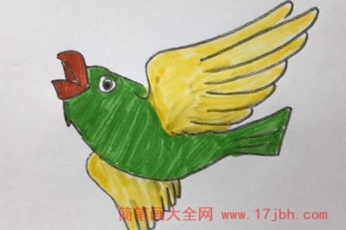 小鸟简笔画图片大全集