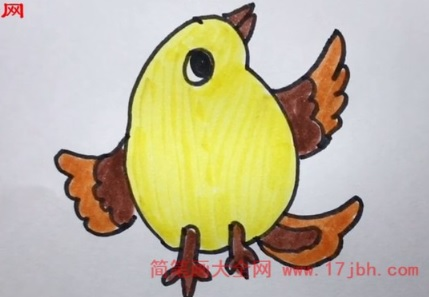 儿童小鸟简笔画大全
