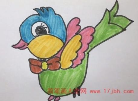 儿童小鸟简笔画图片大全