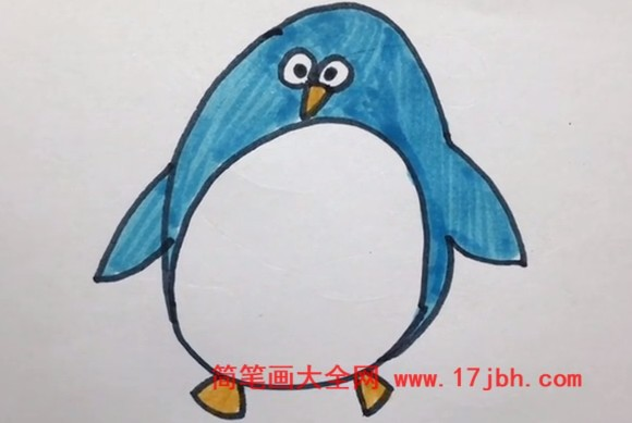 小企鹅简笔画