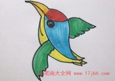 飞鸟简笔画图片大全