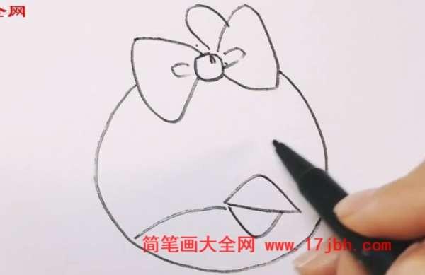 卡通小鸟简笔画好看