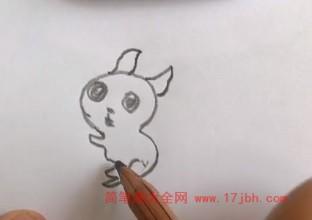 松鼠简笔画图片