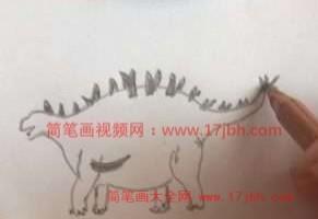 华阳龙简笔画