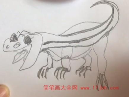 恐龙简笔画