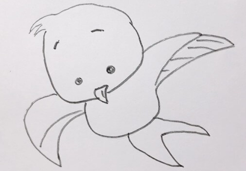 简笔画燕子的画法
