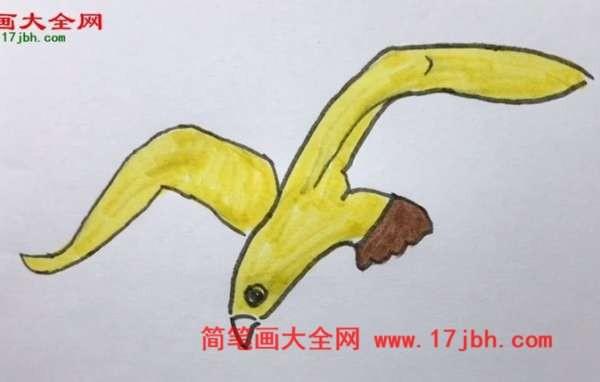 海鸥简笔画图片大全