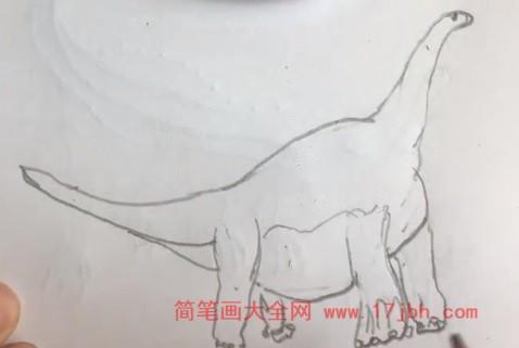 地震龙简笔画