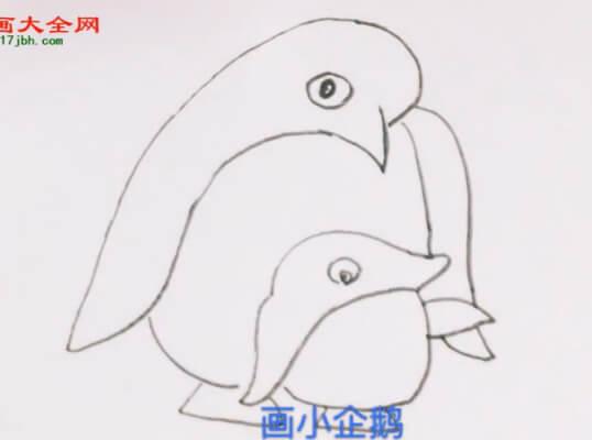 简单企鹅简笔画