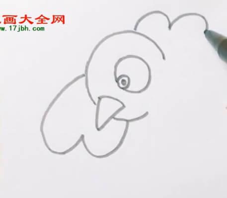 可爱小鸟简笔画