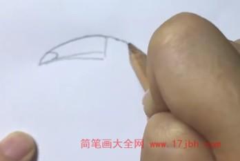 犀鸟简笔画