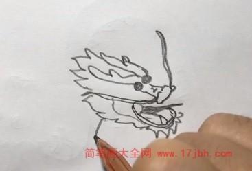龙的简笔画
