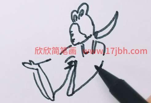 嫦娥简笔画简单又好看