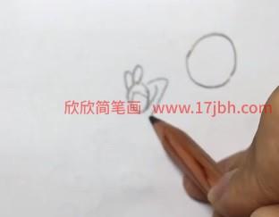 嫦娥简笔画彩色