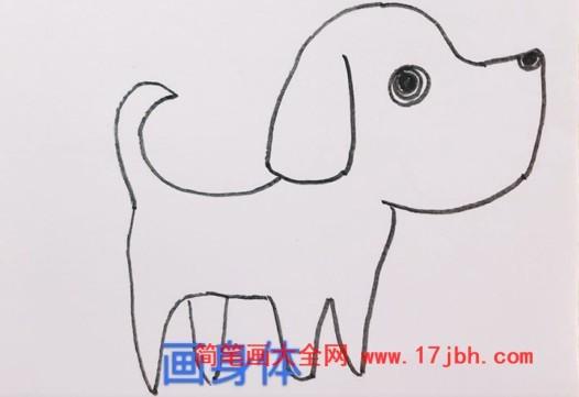 小狗简笔画