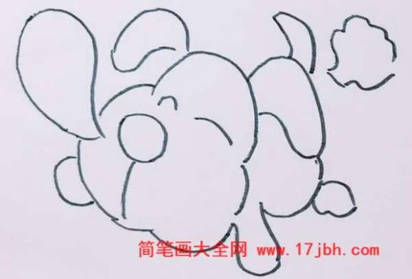 小狗图片卡通简笔画