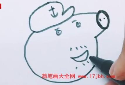 小猪佩奇简笔画画法