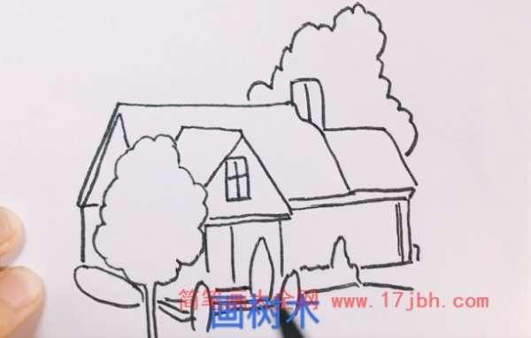 房子简笔画