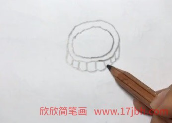 月饼简笔画视频