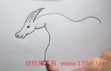 羊的简笔画