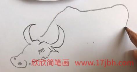 牛的简笔画