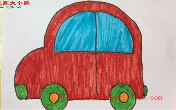 简笔画小汽车怎么画