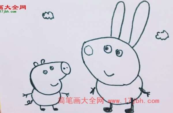 小兔理查德简笔画
