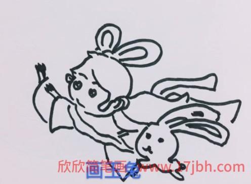 中秋节简笔画