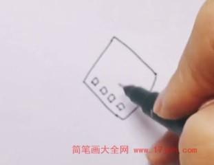 中国结简笔画手绘图