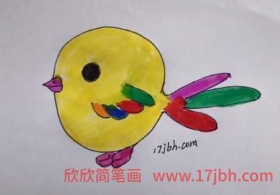 小鸟简笔画图片大全