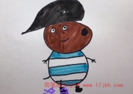 儿童小猪佩奇简笔画图片大全