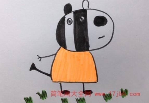 儿童小猪佩奇简笔画大全