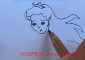 卡通人物简笔画