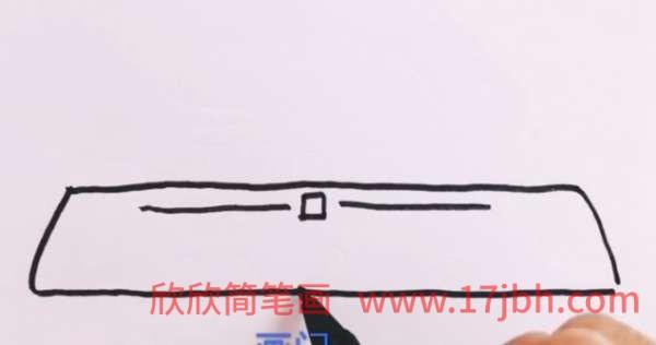 北京天安门简笔画