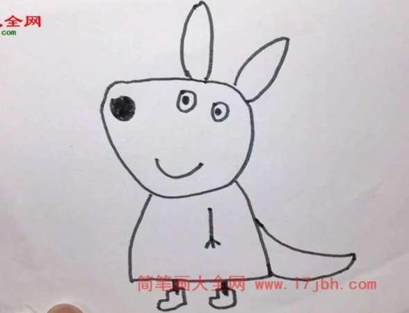 小猪佩奇简笔画图片大全